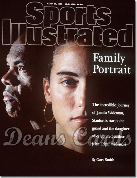 1997 Sports Illustrated - With Label   March 17  -  Jamila & John Wideman Stanford Cardinal