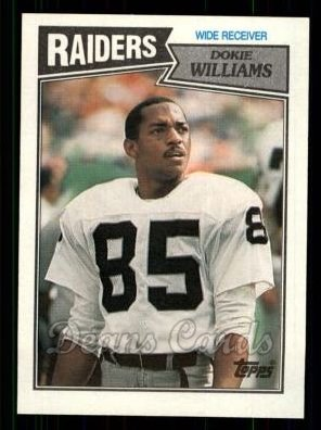 1987 Topps #217  Dokie Williams
