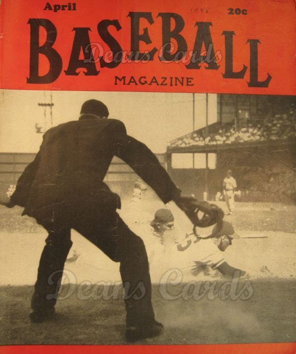 1948 Baseball Magazine    April