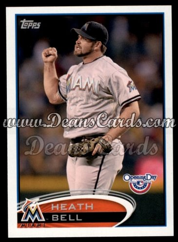 2012 Topps Opening Day #163  Heath Bell