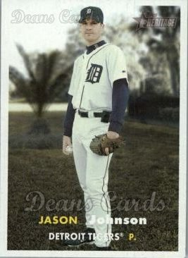 2006 Topps Heritage #456  Jason Johnson