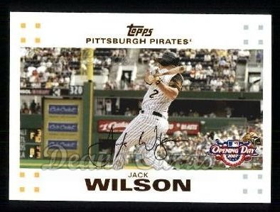 2007 Topps Opening Day #39  Jack Wilson