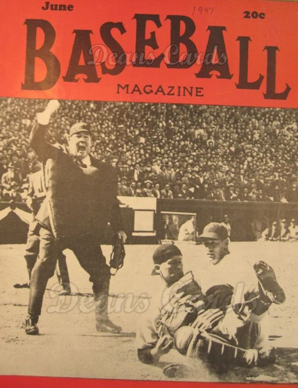 1947 Baseball Magazine    June