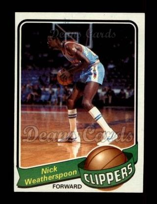 1979 Topps #61  Nick Weatherspoon