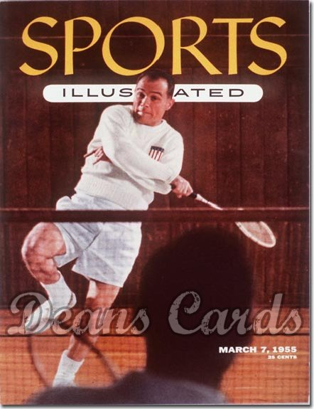 1955 Sports Illustrated - With Label   March 7  -  Jo Alston (Badmitton)