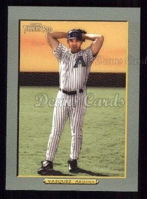 2005 Topps Turkey Red #123  Javier Vazquez