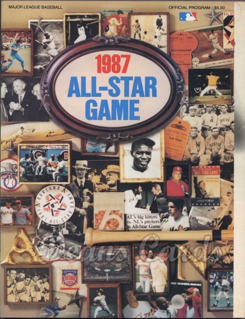 1987 Oakland All-Star Game Program