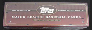 2002 Topps     Baseball Complete Factory Sealed Set