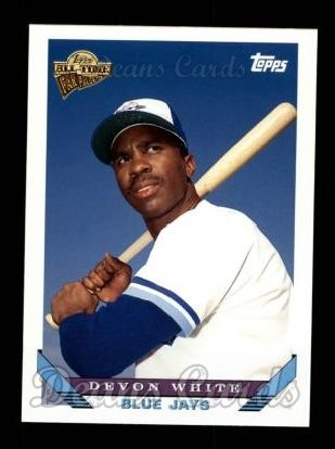 2004 Topps All-Time Fan Favorites #98  Devon White