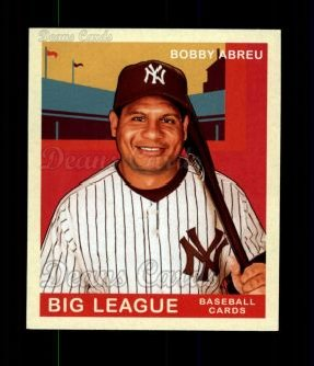 2007 Upper Deck Goudey Red Backs #16  Bobby Abreu
