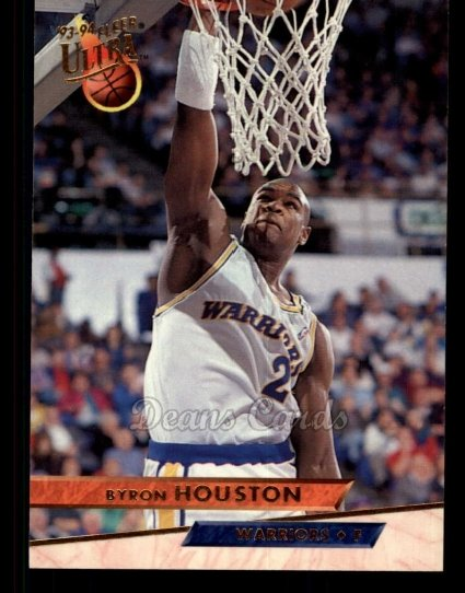 1993 Fleer Ultra #66  Byron Houston