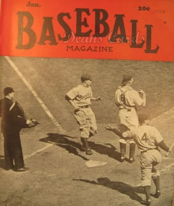 1943 Baseball Magazine    January