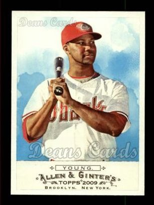 2009 Topps Allen & Ginter #184  Chris Young