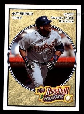2008 Upper Deck Heroes #63  Gary Sheffield