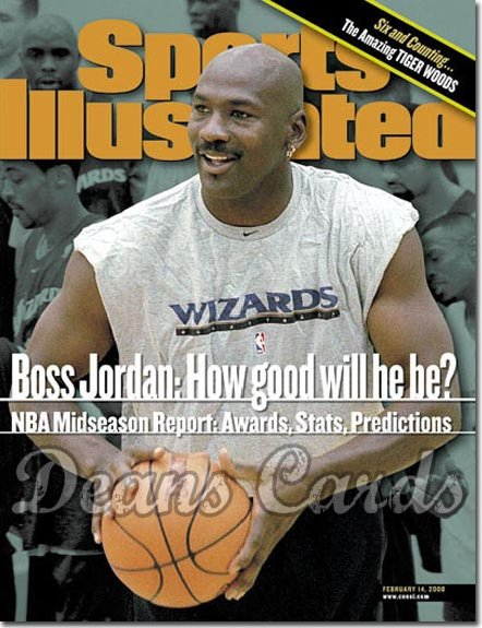 2000 Sports Illustrated   February 14  -  Michael Jordan Washington Wizards