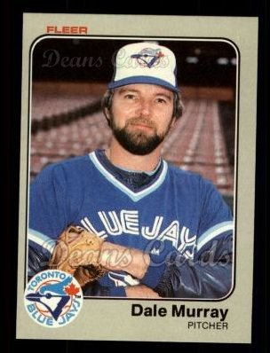 1983 Fleer #437  Dale Murray