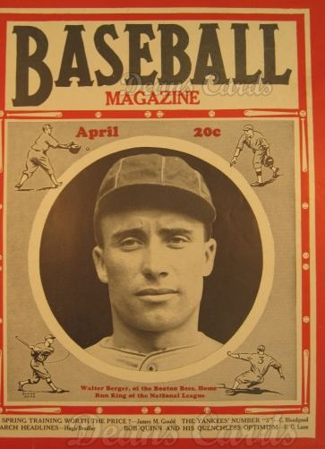 1936 Baseball Magazine    April