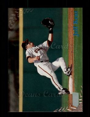 1998 Topps Stadium Club #89  Jeff Kent