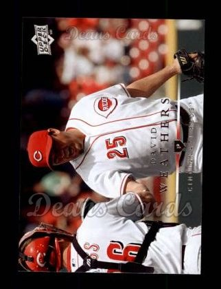 2008 Upper Deck #234  David Weathers