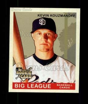 2007 Upper Deck Goudey Green Backs #183  Kevin Kouzmanoff
