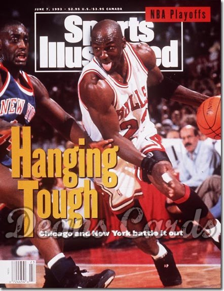 1993 Sports Illustrated   June 7  -  Michael Jordan (Chicago Bulls)