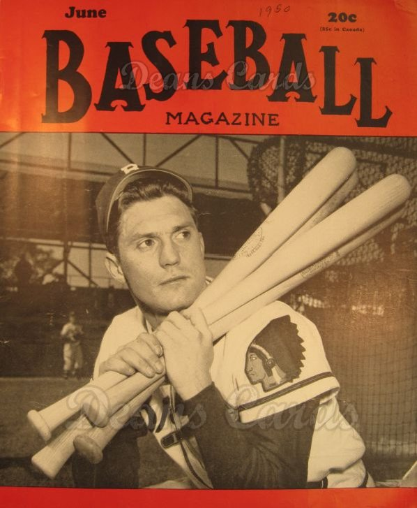 1950 Baseball Magazine    June