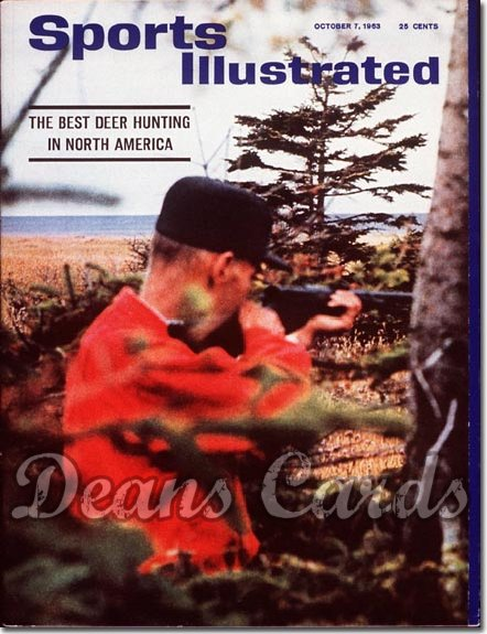 1963 Sports Illustrated - No Label   October 7  -  Deer Hunting
