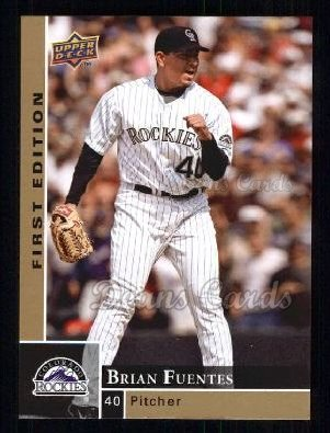 2009 Upper Deck First Edition #97  Brian Fuentes