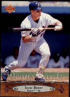 1996 Upper Deck #134  Sean Berry