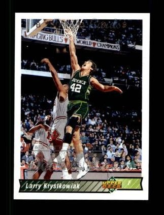 1992 Upper Deck #72  Larry Krystkowiak