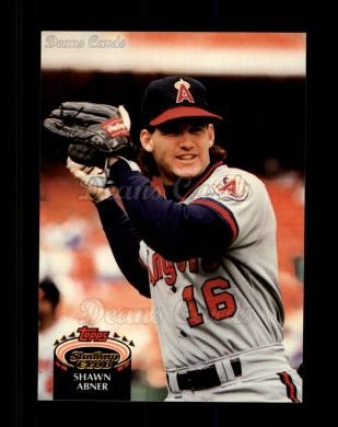 1992 Topps Stadium Club #197  Shawn Abner