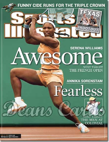 2003 Sports Illustrated - With Label   May 26  -  Serena Williams