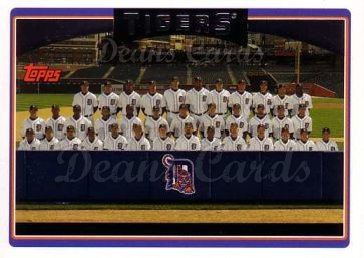 2006 Topps #275   Detroit Tigers Team