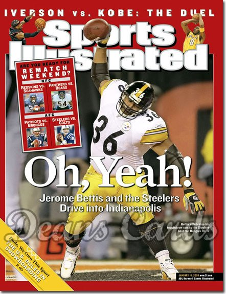 2006 Sports Illustrated   January 16  -  Jerome Bettis