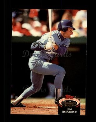 1992 Topps Stadium Club #409  Jim Eisenreich