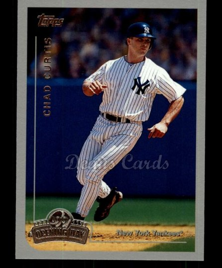 1999 Topps Opening Day #72  Chad Curtis