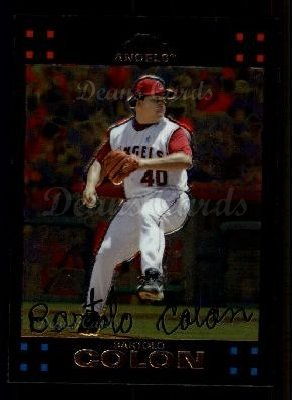 2007 Topps Chrome #222  Bartolo Colon