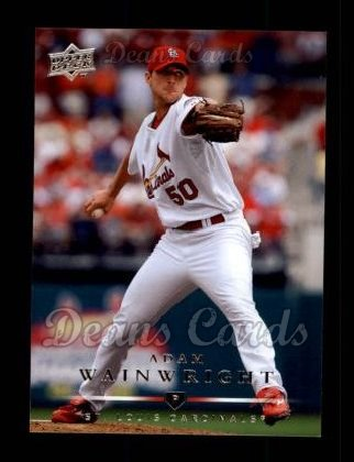 2008 Upper Deck #61  Adam Wainwright