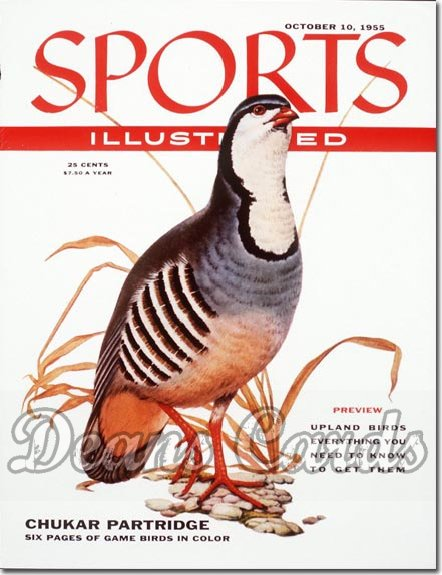 1955 Sports Illustrated - With Label   October 10  -  Partridge