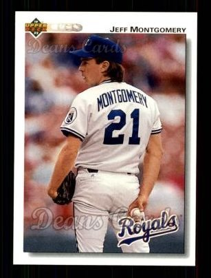 1992 Upper Deck #627  Jeff Montgomery
