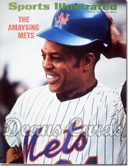 1972 Sports Illustrated   May 22  -  Willie Mays New York Mets