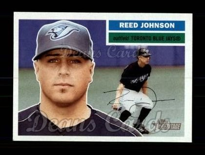 2005 Topps Heritage #41  Reed Johnson
