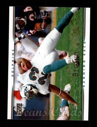 2007 Upper Deck #99  Ronnie Brown