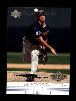 2002 Upper Deck #56  Troy Percival
