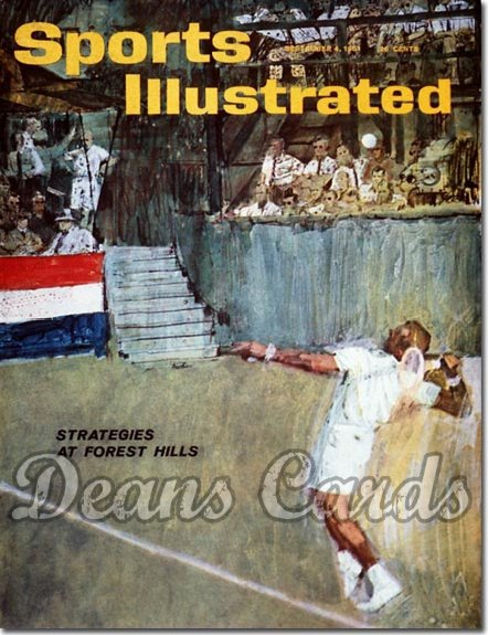 1961 Sports Illustrated - With Label   September 4  -  Forrest Hills