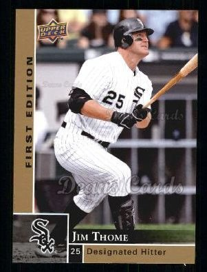 2009 Upper Deck First Edition #73  Jim Thome