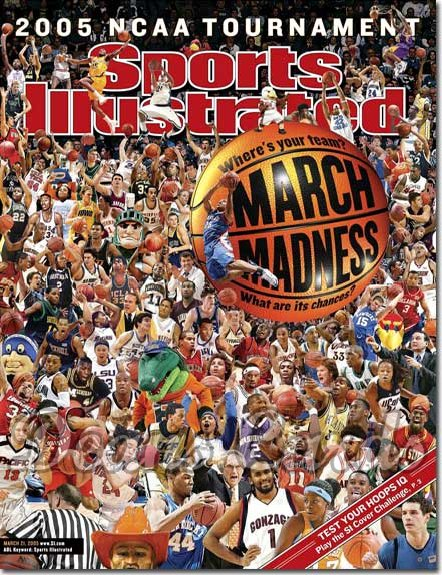 2005 Sports Illustrated   March 21  -  March Madness