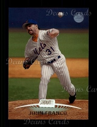 1999 Topps Stadium Club #22  John Franco