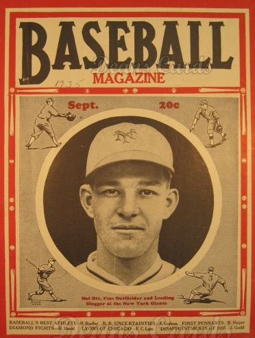 1935 Baseball Magazine    September