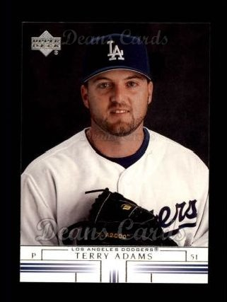 2002 Upper Deck #338  Terry Adams